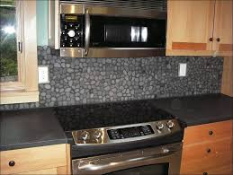 Pictures Of Stone Backsplashes For Kitchens Kitchen Grey Subway Tile Backsplash With Dark Cabinets Gray