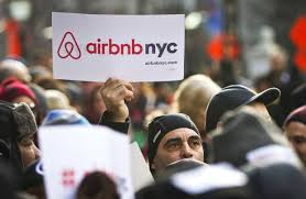 airbnb ceo says company is working on compromise with new york