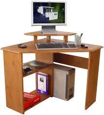 Cheap Corner Desk Uk by Teknik Office French Gardens Pine Study Desk