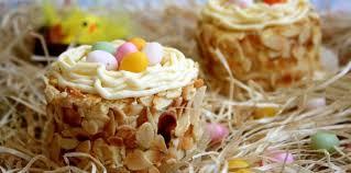 cuisine de paques nids de pâques à la vanille pas cher recette sur cuisine actuelle