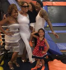 chrissy monroe instagram nick cannon mariah carey reunite on father s day upi com