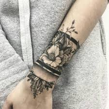 bracelet tattoo design images 50 eye catching wrist tattoo ideas art and design jpg