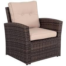 Wicker Patio Furniture San Diego by Amazon Com Sundale Outdoor 5 Pieces Wicker Patio Garden Furniture