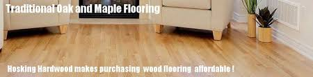 oak maple flooring