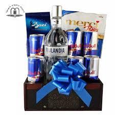 vodka gift baskets vodka redbull gift baskets delivery israel tel aviv jerusalem natanya