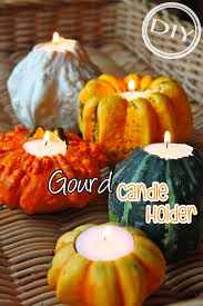 diy gourd candle holder top easy interior design for
