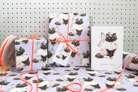 Cat Wrapping Paper Cat Eco Recycled Wrapping Paper Top Drawer