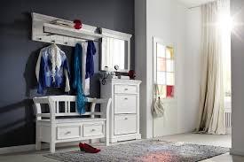 garderobe weiss landhausstil