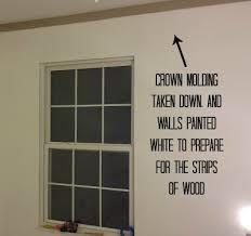 Updating Wood Paneling How To Hang Fake Shiplap Paneling