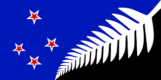 Nee Zealand Flag Kyle Lockwood Silver Fern Vegans New Zealand