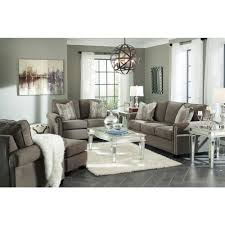 Benchcraft Furniture Ashley Furniture Gilman Sofa In Charcoal Local Furniture Outlet