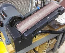 mi shop tools inventions porter cable bench belt disc sander