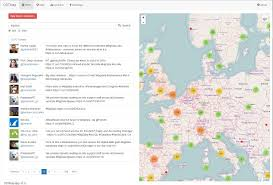 Map View Ostmap Open Source Tweet Map