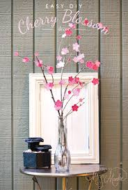 cherry blossom decor easy diy cherry blossom decor designs by miss mandee