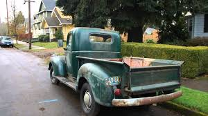 Vintage Ford Truck Body Parts - 1942 chevy pickup youtube