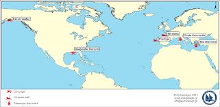 Aegean Sea Map Shipping Risks Archipelagos