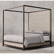 Bed Frame Canopy Restoration Hardware Montrose High Panel Canopy Bed Aptdeco