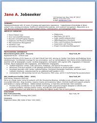 Professional Experience Resume Examples by Experienced Nurse Resume Sample Creative Resume Design Templates