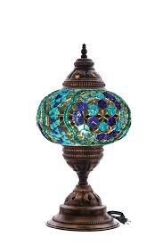 turkish handmade mosaic table lamp buy mosaic chandelier table