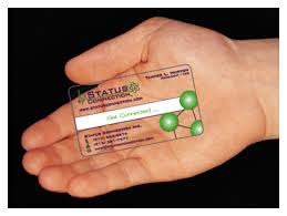 Clear Business Cards Plastic Card Factory Is A Printer And Maker Of Transparent Plastic