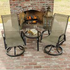 Hton Bay Swivel Patio Chairs Lakeview Patio Furniture Home Design Ideas And Pictures