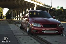 stanced lexus is300 nick hinson is300 slammedenuff