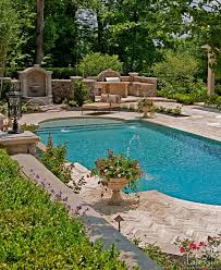 Southern Living Outdoor Spaces by Pools And Water Features Add So Much Character To The Entertaining