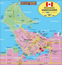 Canada Map by Map Of Vancouver Canada Map In The Atlas Of The World World
