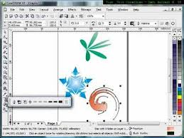 corel draw x4 blend tool how to use interactive distortion tool tutorial corel draw tips and