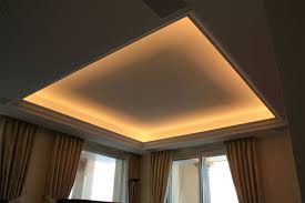 Indirect Lighting Ceiling Plaster Decoration Cyril Piazza