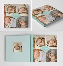 baby boy photo album baby boy photo book template photoshop album template