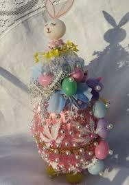 Vintage Easter Egg Decorations by Vintage Easter Egg Sequin Beaded Pin Hand Made Decoration Ornament