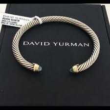 blue topaz bracelet gold images 18 off david yurman jewelry david yurman blue topaz w gold 5mm jpg