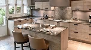 coin repas cuisine moderne aménagement cuisine 7 grandes pièces comme à la cagne