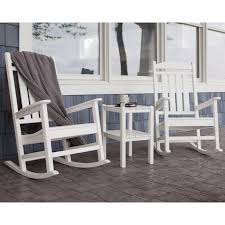Outdoor Rocking Chairs For Heavy Trex Outdoor Furniture Recycled Plastic Yacht Club Rocking Chair