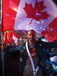 Canada Flag Bearer Benoît Huot The Canadian Encyclopedia