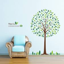 Tree Nursery Wall Decal Happy Tree Nursery Wall Sticker Decal Jpg