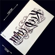 tattoo fonts for men online buy wholesale tattoo lettering designs for men from china
