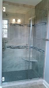 Bel Shower Door Custom Corner Shower Seat Bel Air Construction Maryland