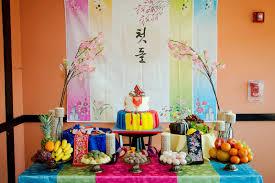 korean birthday photography a korean birthday table all god s creations