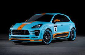 Porsche Macan Blue - porsche macan s diesel by hamanntuningcult