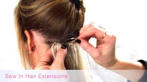 sew in hair extensions hair extensions are they right for me