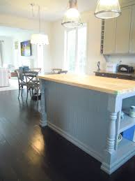 Kitchen Island Extension by White Wood May 2012