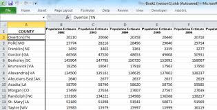 cdx technologies 10 year population estimates by county state