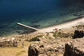 Lake Titicaca Map Bolivian Travels Walking Through The Ruins Of Isla Del Sol And