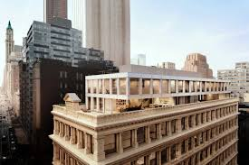 shigeru ban u0027s cast iron house tops out raises the bar for tribeca