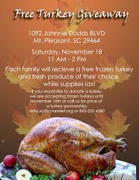 free frozen turkey giveaway shifa clinics by icna relief usa