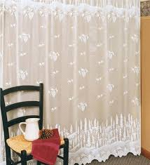Pine Cone Lace Curtains Usa Made Pinecone Lace Shower Curtain Shower Curtains