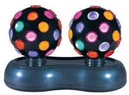 mini disco ball light twin rotating mini disco ball light with flashing disco sequence