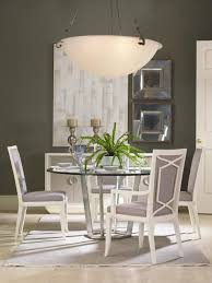 Fair Park Metal Base Dining Table With Glass Top Cadieux - Glass top dining table ottawa
